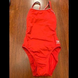 Speedo Endurance Plus 1-piece swimsuit. Sz 6/32.